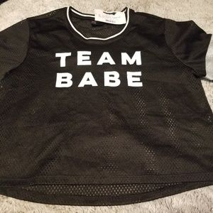 Team babe jersey